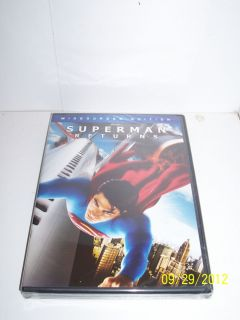 DVD New SEALED Bryan Singer Brandon Routh Kevin Spacey DC Comic