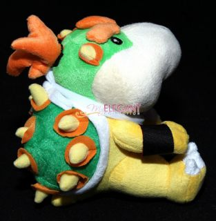 Mario Brothers Bros 6 Bowser Jr Junior Stuffed Toy Plush Doll