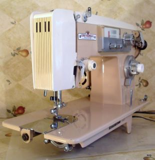 EXTRA Heavy Duty UNIVERSAL ZigZag Sewing Machine POWERFUL 1 3 amp SEW