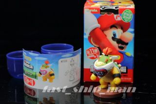 Super Mario Bros candy toy 2012 collection no 29 Bowser jr figure