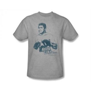 Muhammad Ali Sting Like A Bee Vintage Style Boxing Legend T Shirt Tee