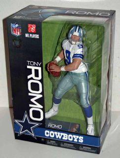 McFarlane NFL 12 inch Football Tony Romo Dallas Cowboys Action Figure