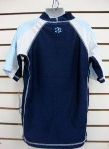 boys spf 50 surf shirt rash guard short sleeve small thru xl rgc3t