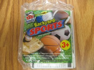 Wendy's Kid's Meal Toy Backyard Sports Baseball New