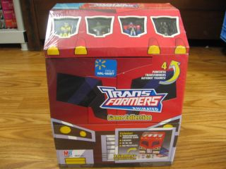 Transformers Animated Game Collection 4 Figures New