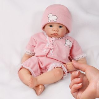 Little Lamb Bradford Exchange Ashton Drake Doll Little Lullaby Babies