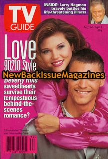 TV Guide 9 95 Tiffani Amber Thiessen Brian Austin Green