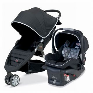 Britax B Agile B Safe Stroller Travel System BLACK ~BRAND NEW