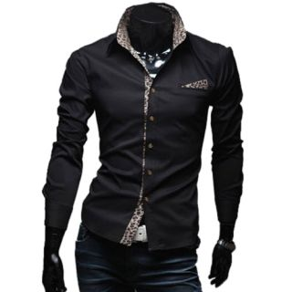 Brand New Mens Casual Luxury Stylish Slim Design Dress Fitted Shirts