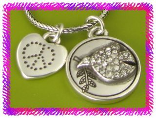 brighton silver it s time necklace nwotag