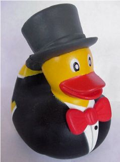 Bride Groom Rubber Ducky Ducks Duck Wedding Cake Topper