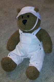Baby Gap Brannan Curly Brown 13 Teddy Bear Stuffed Plush Brennan LRG