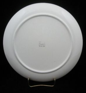 Chanticleer Rooster Chicken Dinner Plate by Brock of California