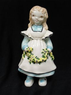 Vintage Brayton Laguna California Pottery Little Girl Figurine