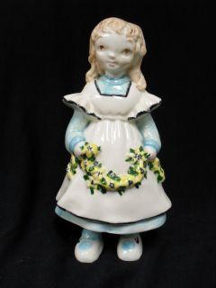 Vintage Brayton Laguna California Pottery Little Girl Figurine