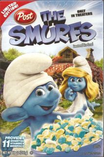 5XS The Smurfs Post Cereal Limited Edition New in Box Papa Smurf