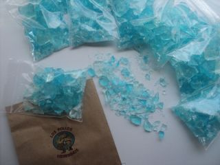 pack 2 oz BREAKING BAD Blue Meth Glass Candy COTTON CANDY Flavored