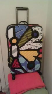 Britto by Heys USA Butterfly 26 Spinner Case Wheeled Luggage B70026