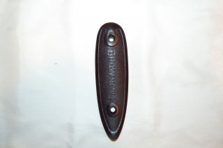 Browning 20 Gauge Superposed Butt Plate