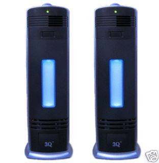 Two New Pro Ionic Fresh Breeze Air Purifier Ionizer UV Cleaner A04