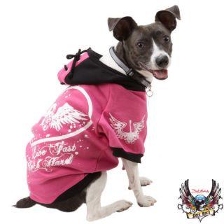 Bret Michaels Pets Rock Pink Hoodie Reg $24 99
