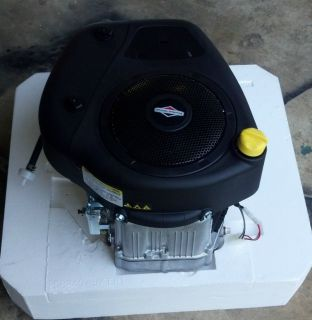 BRIGGS AND STRATTON VERTICAL SHAFT 14.5HP OHV ENGINE & 500cc Electric