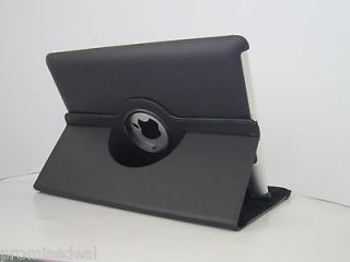 Rotating Leather Smart Cover Case Stand For iPad 2/3/4 new ipad