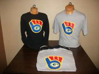 Brewer Packer Badger Logo Shirts
