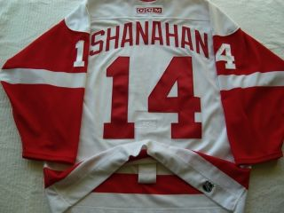 BRENDAN SHANAHAN DETROIT RED WINGS CCM AUTHENTIC 2002 CUP NHL HOCKEY