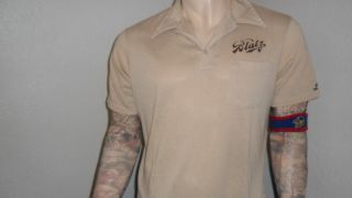 Vtg Blatz Beer Bowling Shirt Polo Leo Name Sewn 70s 80s