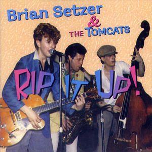 Brian Setzer & The Tomcats Rip It Up Rare early Rockabilly Stray Cats