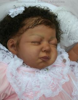 Prototype Brianna Donnelly Reborn Baby Girl Doll Ethnic AA Award