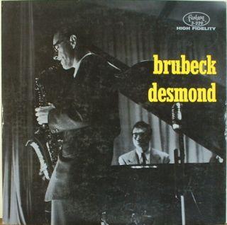 Dave Brubeck Paul Desmond Brubeck Desmond Fantasy 3 229 Red Vinyl