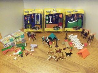 STABLEMATES SCHOOLING BREYER STABLEMATES WESTERN CAMPING BREYER HORSE