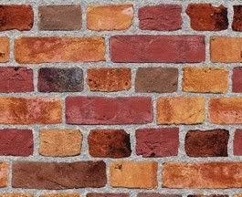 Red Brick Wallpaper Textured Brick Wall SF084791 SR026132