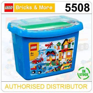 5508 Lego Deluxe Brick Box Bricks More Starter Set Age 4 704 Pieces