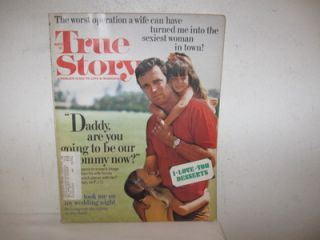 Vintage True Story Magazine March 1972 FC 142 pages Love Marriage Fine