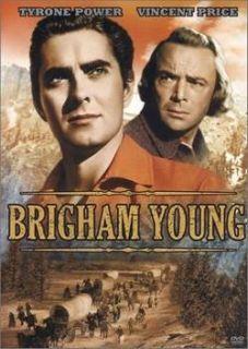 BRIGHAM YOUNG Tyrone Power LDS Bio Drama DVD New