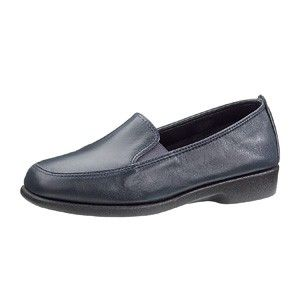 Hush Puppies Women Shoes Heaven Navy Blue Leather