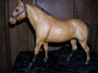 Vintage Breyer Two Bits Buckskin Quarter Horse Gelding Model 98