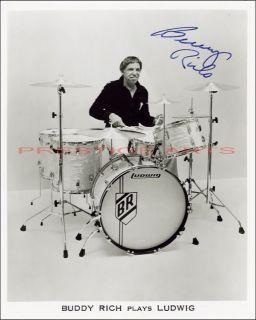 Buddy Rich Autographed Reprint