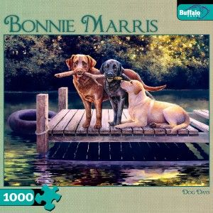 Buffalo Games Bonnie Marris Dog Days Jigsaw Puzzle 1000 PC