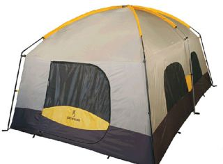 NEW Browning Camping Black Canyon 2 Room Tent Grey/Gold 5791011