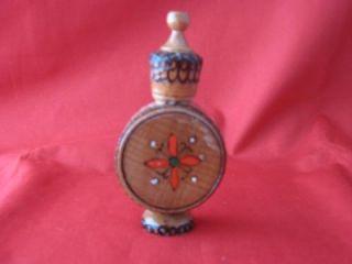 Wood Rose Dsign Rose Scent Full Bulgaria Perfume Bottle
