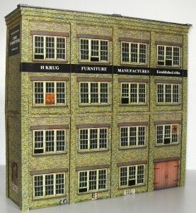 3DK Model Railroad Railway O Scale O Gauge Building Structure Kit O