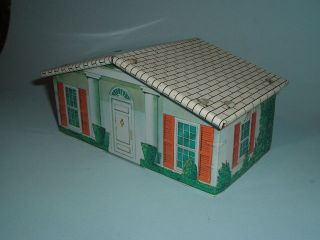 1960s T Cohn Superior Civil War Play Set Tin Litho House