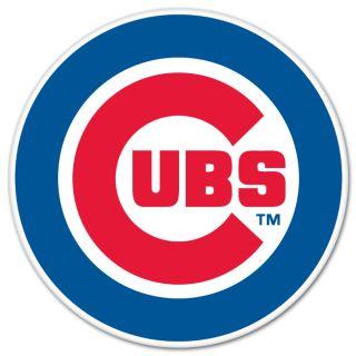 Chicago Cubs MLB Baseball Car Bumper Sticker 4 x 4