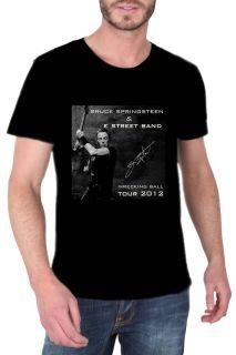NEW Bruce Springsteen Wrecking Ball Tour 2012 Black tee shirt S M L XL
