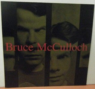 Bruce McCulloch Double Sided Promo Album Flat Shame Based Man 1995