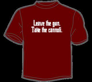 Take The CANNOLI T Shirt Womens Godfather DVD Blu Ray